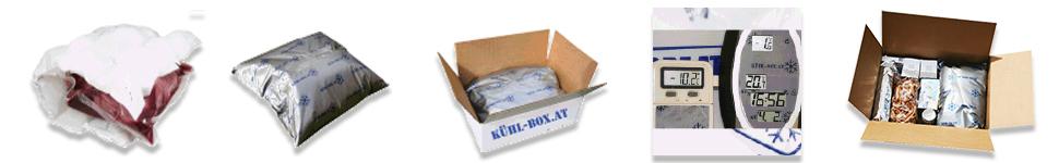 Kühlbox Verpackung von Schätze aus Österreich