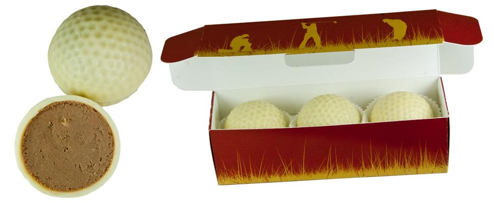 schokolade golfball dreier. Black Bedroom Furniture Sets. Home Design Ideas