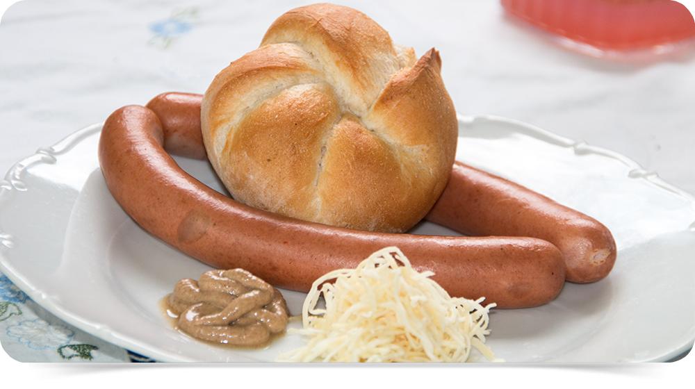 Brühwurst bei Schätze aus Österreich